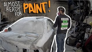 PT.4 1996 Turbo D16 Honda Civic build! - ALMOST READY FOR PAINT!