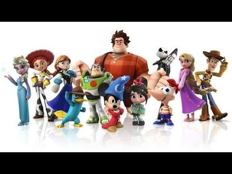 30 Disney Infinity Figures Collection Frozen Cars2 Phineas Sorcerer Mickey Incredibles Mater Pixar