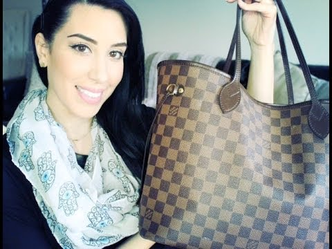What's In My Bag?! Louis Vuitton Neverfull MM ♥