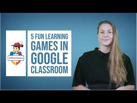How to create learning games in Google Classroom - YouTube