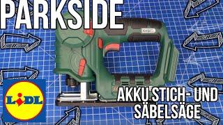 LIDL PARKSIDE Akku-Stich- und Säbelsäge » PSSA 20-Li A1 « X 20 V Team