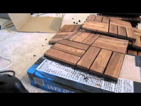 Turn IKEA decking into a bath mat   supplemental video