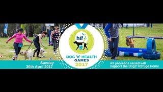 Were in full preparation mode for this Sundays 2017 HIF Dog N