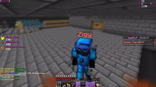 MEEZOID'S FACTION RUNS IN OUR BASE... WE TRAP THEM! **ALMOST RAIDABLE** | Minecraft HCF