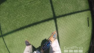 POV GoPro Cricket Nets- Batting in the radiant heat of Summer 2019 (Ep19)