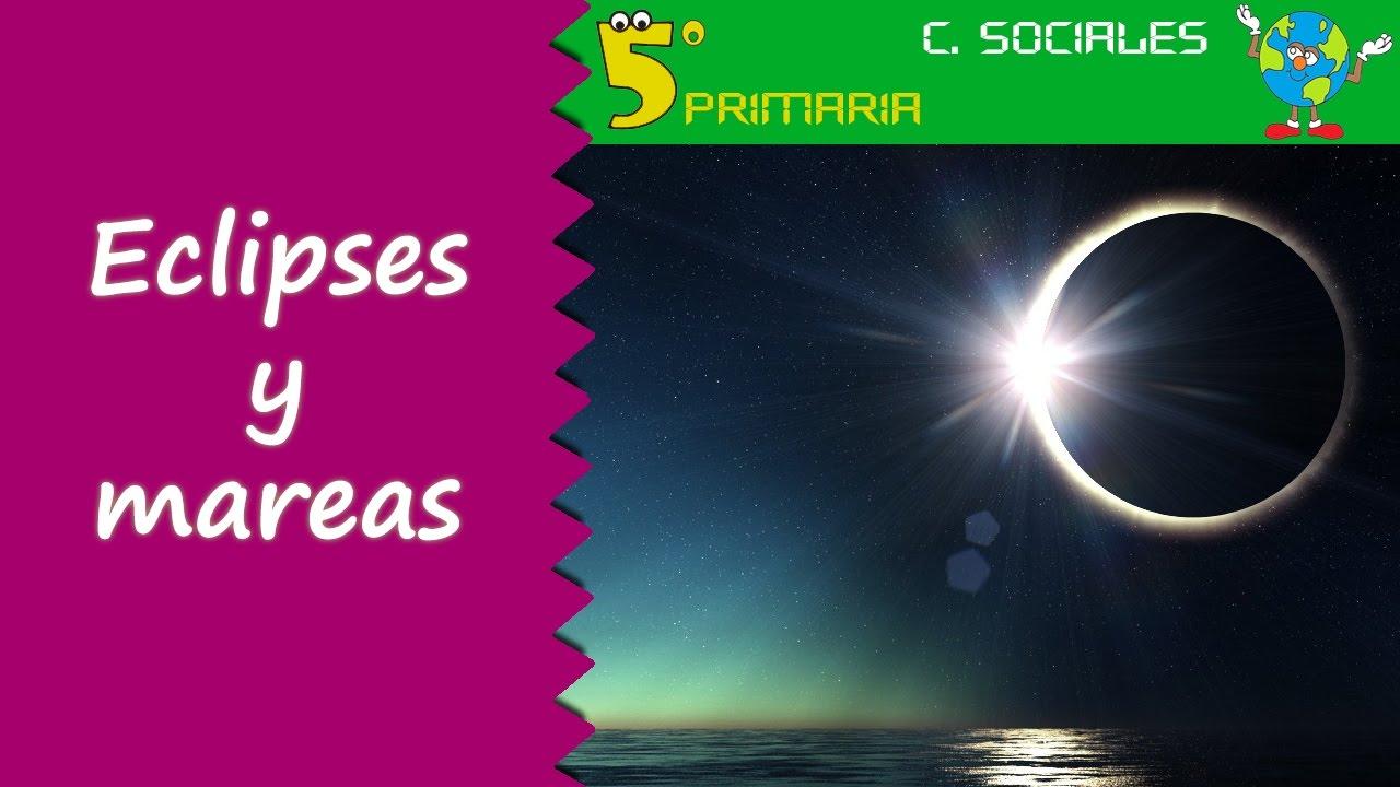 Eclipses y mareas. Sociales, 5º Primaria. Tema 1