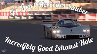 GT Sport Mercedes Sauber C9 Gameplay! INSANE!