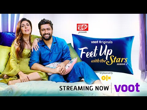Feet Up With The Stars S2 | Vicky Kaushal | Streaming Now on Voot
