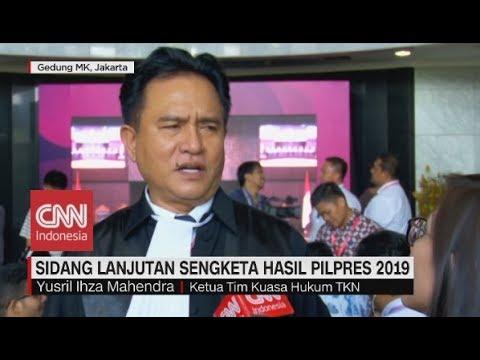 Yusril Jawab Tudingan-tudingan Terkait Sengketa Pilpres 2019