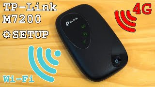 TP-Link M7200 portable 4G router Wi-Fi • Unboxing, installation, configuration and test