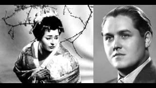Victoria de los Angeles & Jussi Bjorling - Viene la sera (Madama Butterfly )