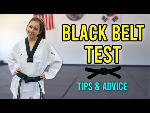 Tips for Preparing for Your Black Belt Test - YouTube