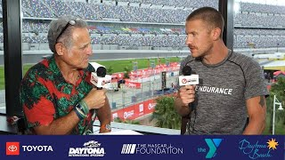 Breakfast with Bob at Challenge Daytona: Lionel Sanders