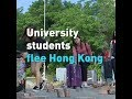 University students flee Hong Kong