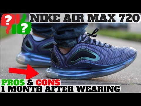 34c53716962 1 MONTH AFTER WEARING  NIKE AIR MAX 720 WORTH BUYING  PROS AND CONS -  скачать в MP3 или MP4
