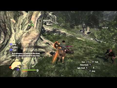 Gameplay de Dragon's Dogma: Dark Arisen