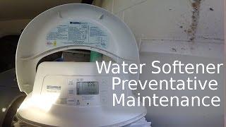 Jimmy FixIt Water Softener Preventative Maintenance