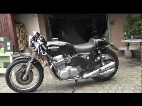 1976 Honda Cb 750 Cb750 F1 Cafe Racer Caferacer Videos Custom