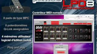 Akai Professional LPD8 - Video