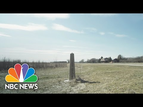 People Are Fleeing President Trump's America To This Tiny Canadian Town | NBC News