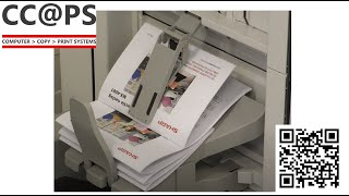 MFP   Een A4 of A5 boekje maken op de printer instructie
