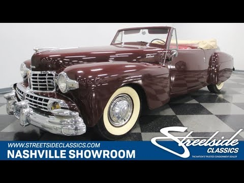1946 Lincoln Continental for Sale - CC-1017648