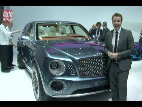 Bentley EXPF9 Concept SUV
