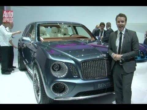 GENEVA 2012 - Bentley EXPF9 - Auto Express