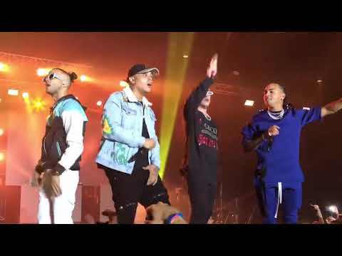 Video Te Bote Remix (En Vivo) Bad Bunny, Ozuna, Nio Garcia, Darell