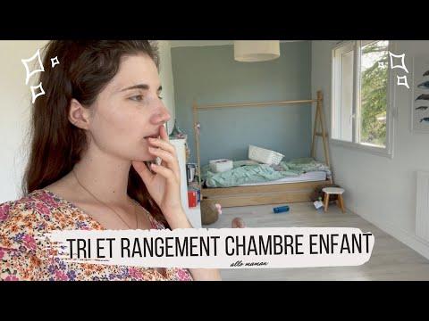 RANGEMENT CHAMBRE EDEN - VLOG