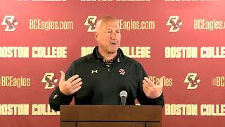 Football: Spring Press Conference (Feb. 20, 2019)