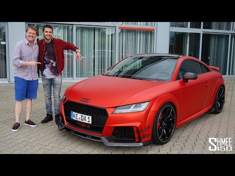 THIS is the Abt TT RS-R and it's a 500hp Beast!