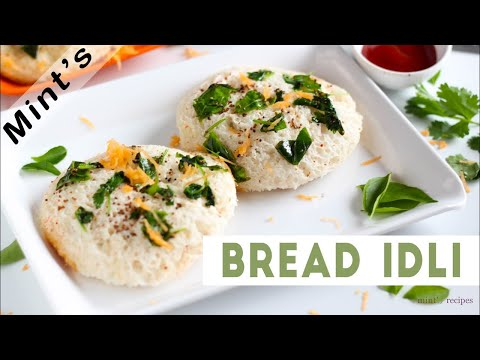 Bread Idli Recipe In Hindi – Indian Breakfast Recipes – Snacks Recipes Indian-Bread Recipes – Ep-137