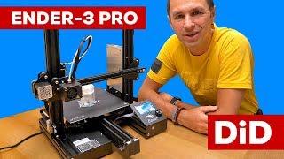 814. Druk 3D: Drukarka 3D Creality Ender-3 Pro