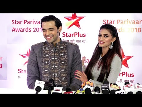 Kasauti Zindagi Ki Season 2 Erica Fernandes And Parth Samthaan Interview Star Parivaar Awards 2018