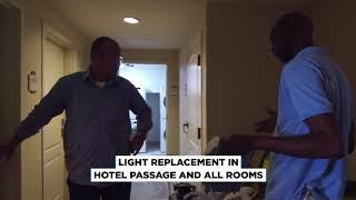 PALM BEACH HOTEL ARUBA ELECTRICAL RENOVATION BY ROTECH