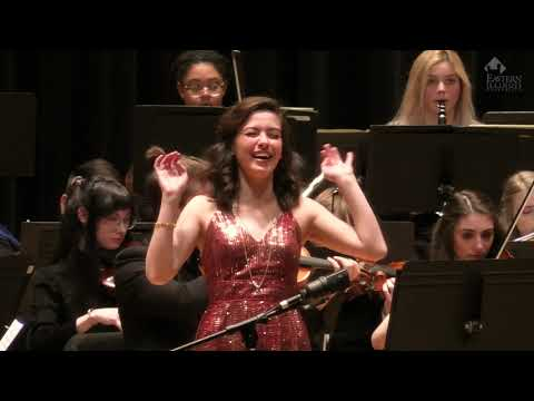 "Haley Fryer performing ""Quel guardo il cavaliere"" from Don Pasquale with the Eastern Symphony Orchestra"