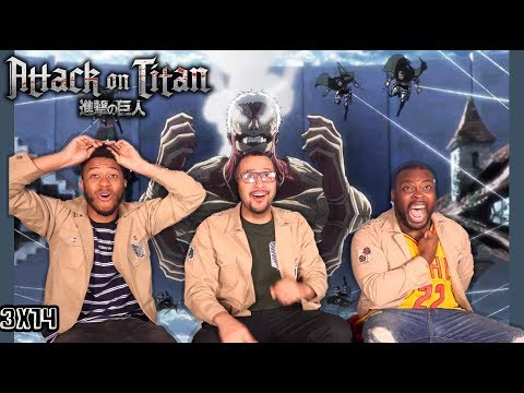 Attack on Titan 3x14 REACTION/REVIEW REMATCH WE'VE ALL BEEN WAITING FOR!