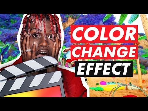 Color Change Effect (Lil Yachty/Lil Skies) – Final Cut Pro X Tutorial
