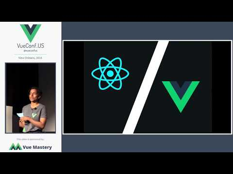 A React Point of Vue - Divya Sasidharan at VueConf.US