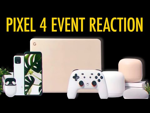 Google's Pixel 4 Event Was a TRAINWRECK, but...
