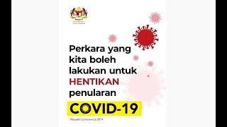 Hentikan Penularan COVID-19!