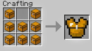 Minecraft UHC But You Can Craft CHESTPLATES From CHESTS...?