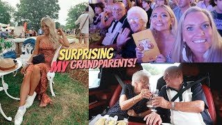 I pulled off the most amazing surprise for my Grandparents!!
