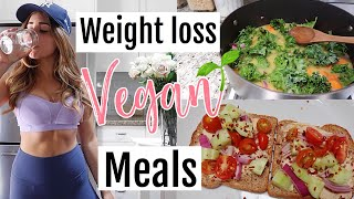 What I Eat To Lose Weight as a Vegan 2018