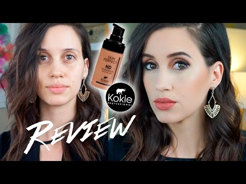 Kokie Skin Perfect HD Foundation Review - NEW at Walmart!