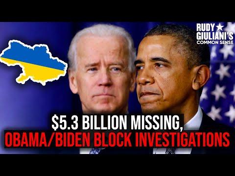 Obama & Biden Block Investigations into $5.3 Billion Missing! | Rudy Giuliani Video