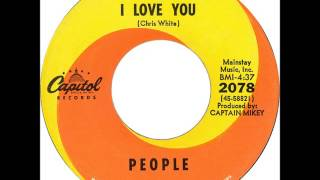 PEOPLE   I Love You   1968   HQ