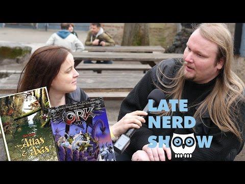 Late Nerd Show 162: Cavecon, Die Schwarze Katze, Ork-Saga 2, Atlas & Axis