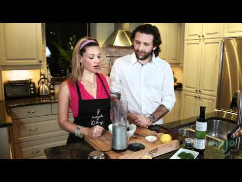 Quick Easy Recipe – Marinated Scallops With Basil Pesto